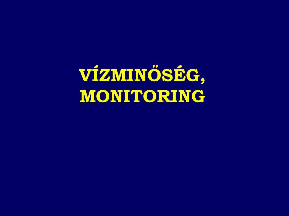 VÍZMINŐSÉG, MONITORING