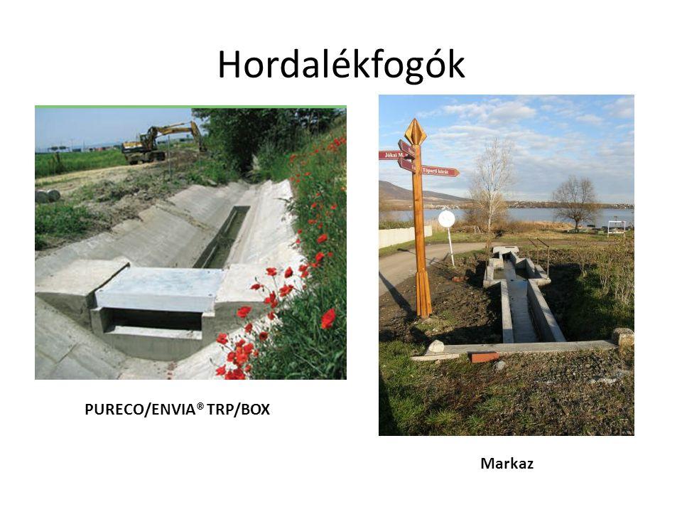 Hordalékfogók PURECO/ENVIA® TRP/BOX Markaz