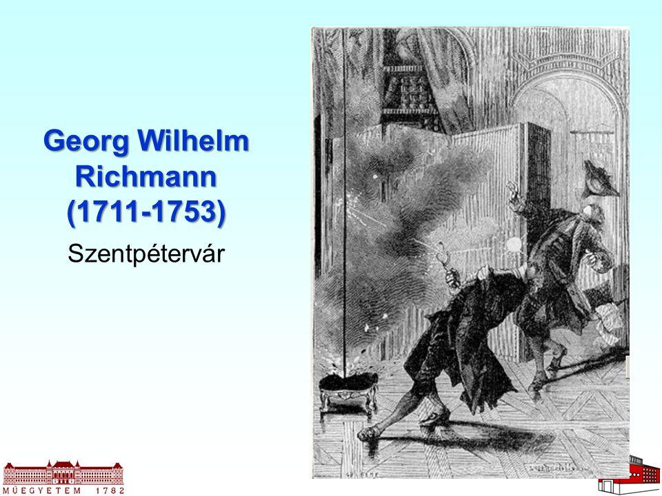 Georg Wilhelm Richmann (1711-1753) Szentpétervár