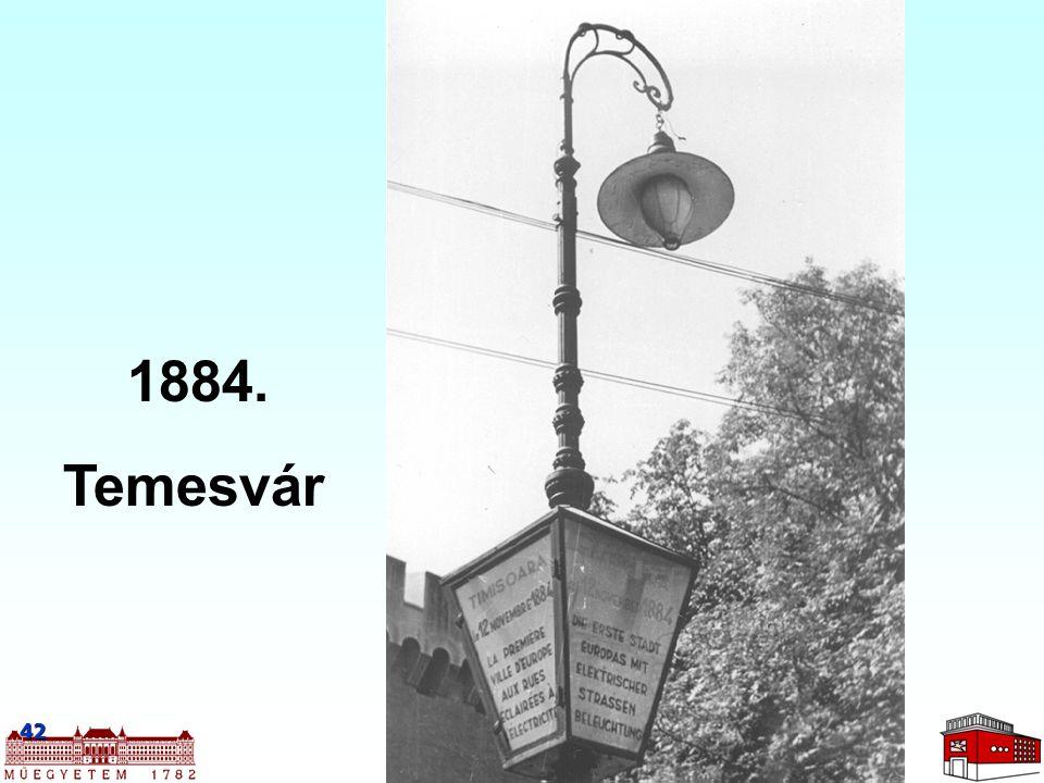 42 1884. Temesvár