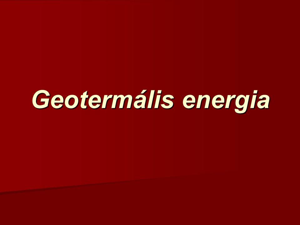 Geotermális energia