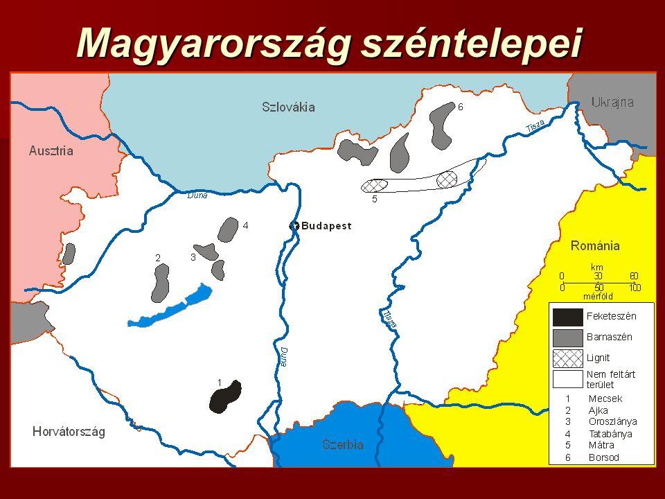 Magyarország széntelepei