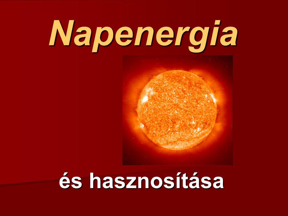 Napenergia és hasznosítása