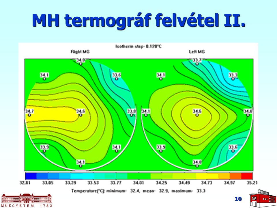 10 MH termográf felvétel II.