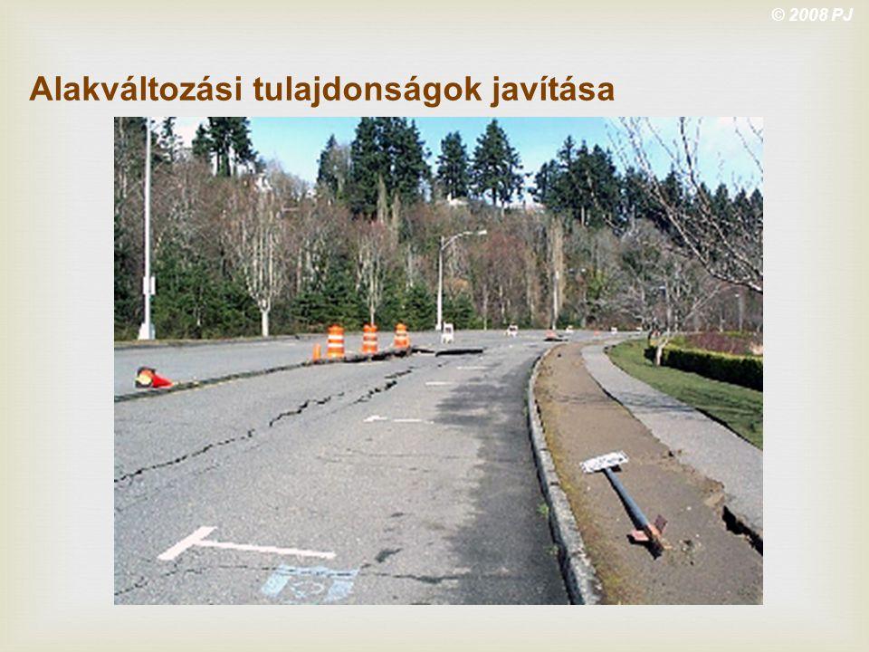 © 2008 PJ Alakváltozási tulajdonságok javítása