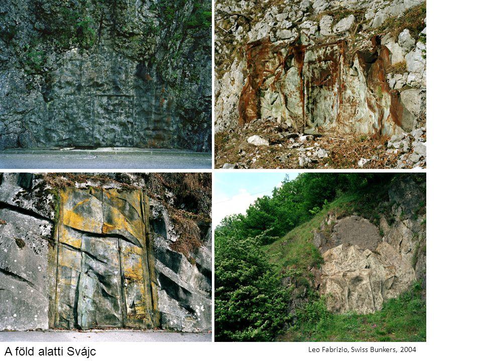 Leo Fabrizio, Swiss Bunkers, 2004 A föld alatti Svájc