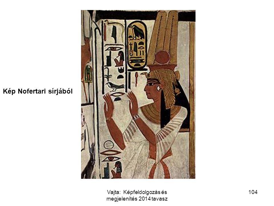 104 Kép Nofertari sírjából Vajta: Képfeldolgozás és megjelenítés 2014 tavasz