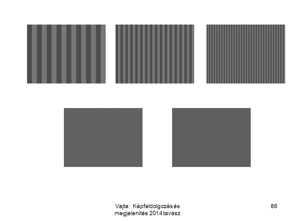 86Vajta: Képfeldolgozás és megjelenítés 2014 tavasz