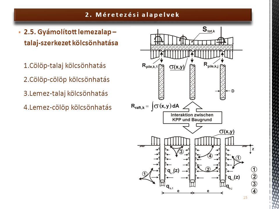 2.Méretezési alapelvek  2.5.
