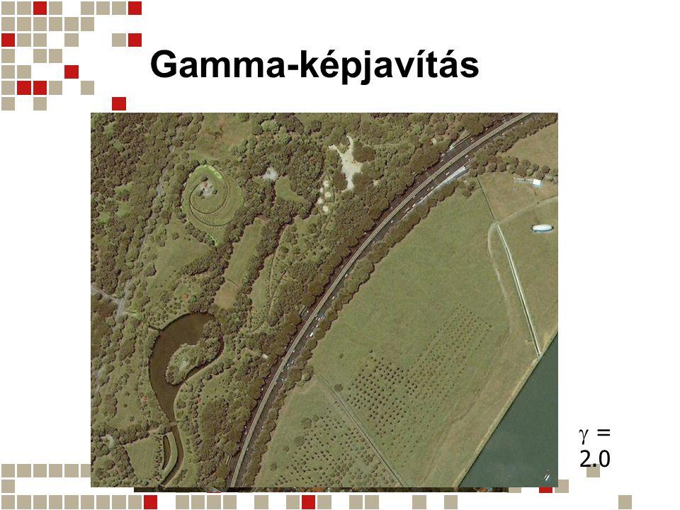 Gamma-képjavítás  = 2.0