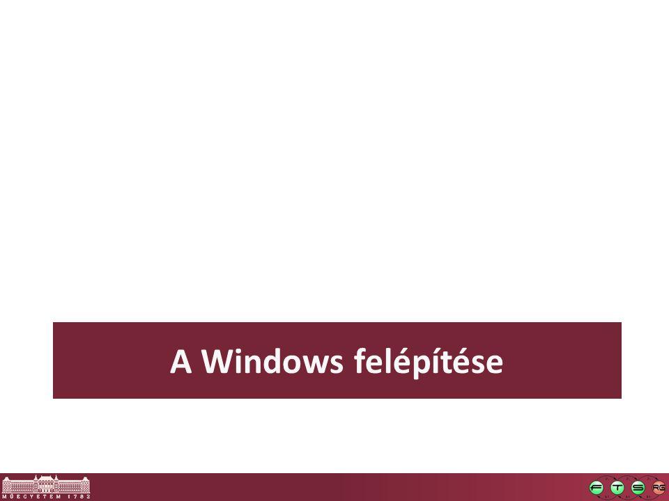 A Windows felépítése