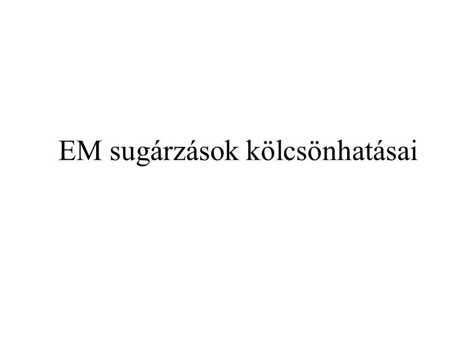 nem polarizált elektromágneses-nyaláb I.