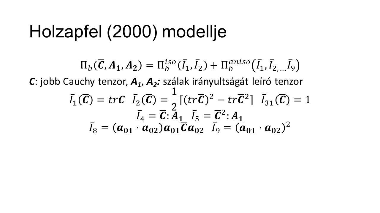 Holzapfel (2000) modellje