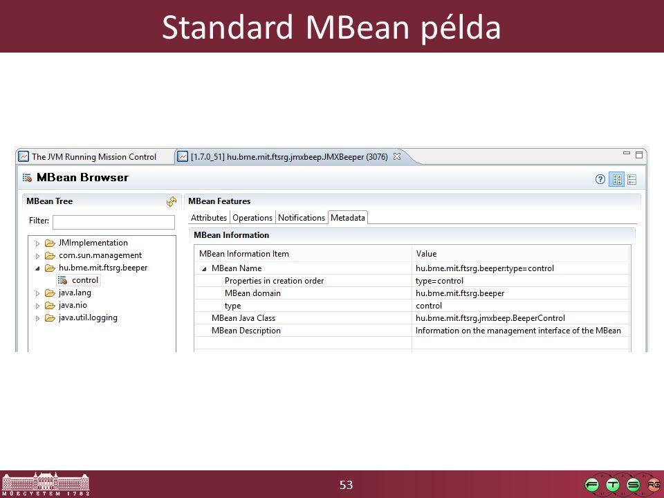 53 Standard MBean példa