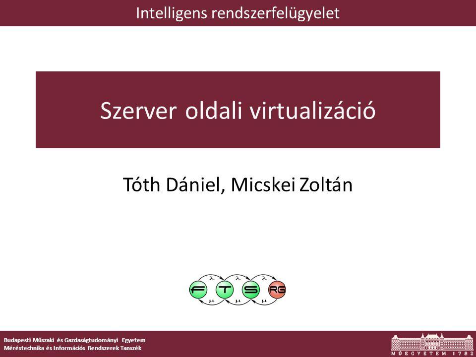 42 OpenVZ architektúrája Hardver Linux kernel (+OpenVZ patch) OpenVZ izolációs réteg (vzctl) alkalmazások Virtual Private Server