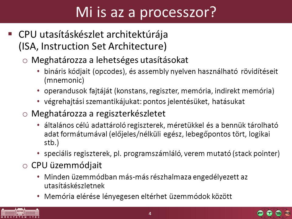 Tartalom  Platform virtualizáció technikai háttere o Ismétlés: mit csinál egy CPU o Mi kell egy virtuális CPU-hoz (Popek & Goldberg) o Szimuláció, emuláció, virtualizáció o Három lehetőség a virtualizációra: szoftveres, hardveres, para- o Memóriakezelés egy modern CPU-ban o Virtuális gépek memóriakezelése: szoftveres, hardveres, para- o Virtuális memóriakezelés speciális képességei: megosztás, késleltetett allokáció, memória-ballon 15
