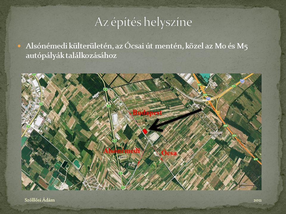 Alsónémedi külterületén, az Ócsai út mentén, közel az M0 és M5 autópályák találkozásához Szöllösi Ádám2011