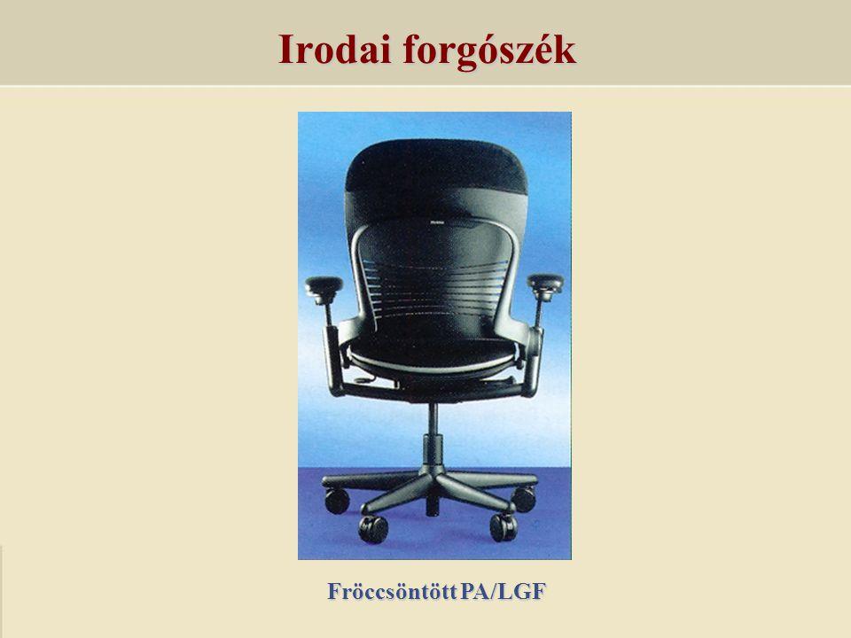 Irodai forgószék Fröccsöntött PA/LGF