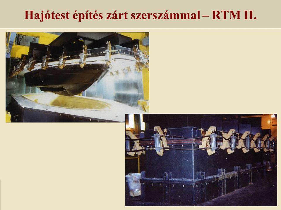 Hajótest építés zárt szerszámmal – RTM II.