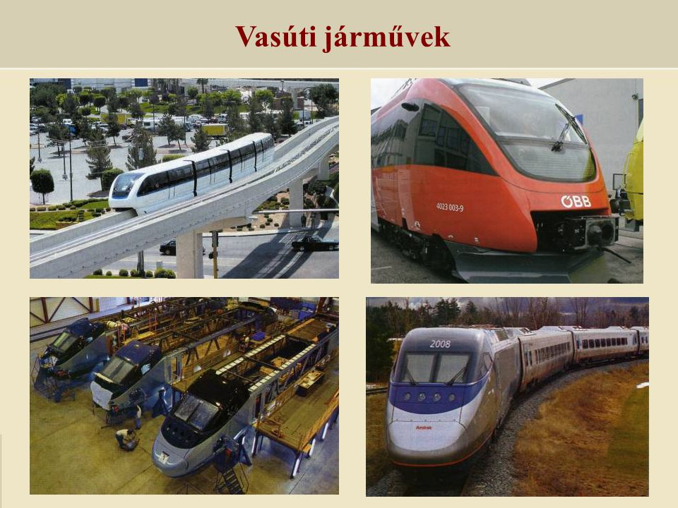 Vasúti járművek