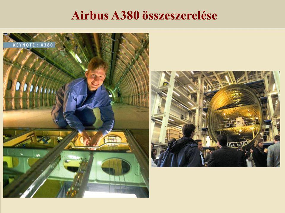 Airbus A380 összeszerelése