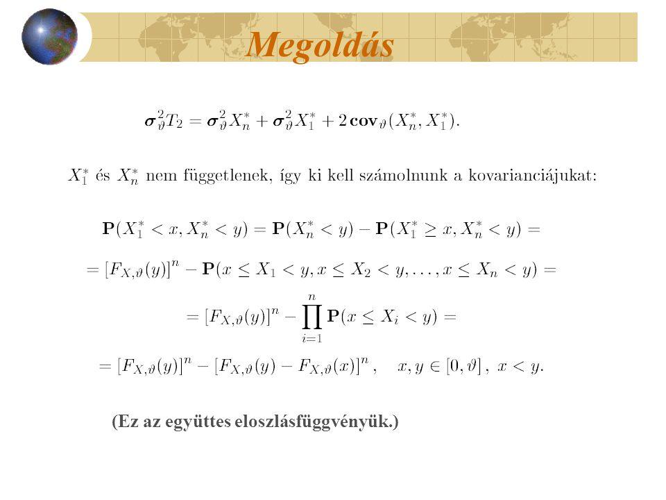 Jóslási intervallum (1-  a valószínűsége annak, hogy x adott értékénél egy későbbi mérés eredménye a számított intervallumba esik.