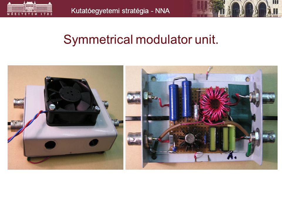 Kutatóegyetemi stratégia - NNA Symmetrical modulator unit.