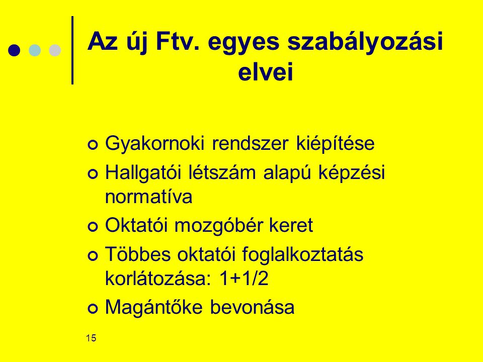 15 Az új Ftv.