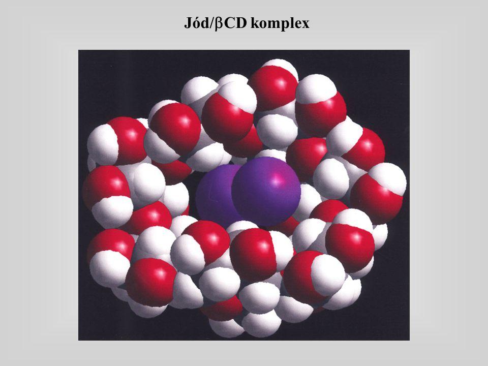 Jód/  CD komplex