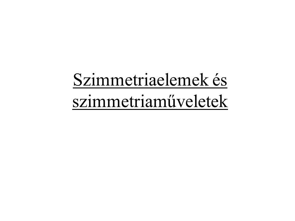 Szimmetriaelemek és szimmetriaműveletek