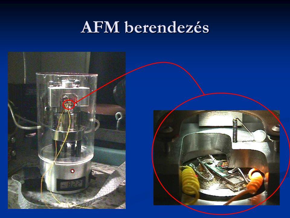 AFM berendezés