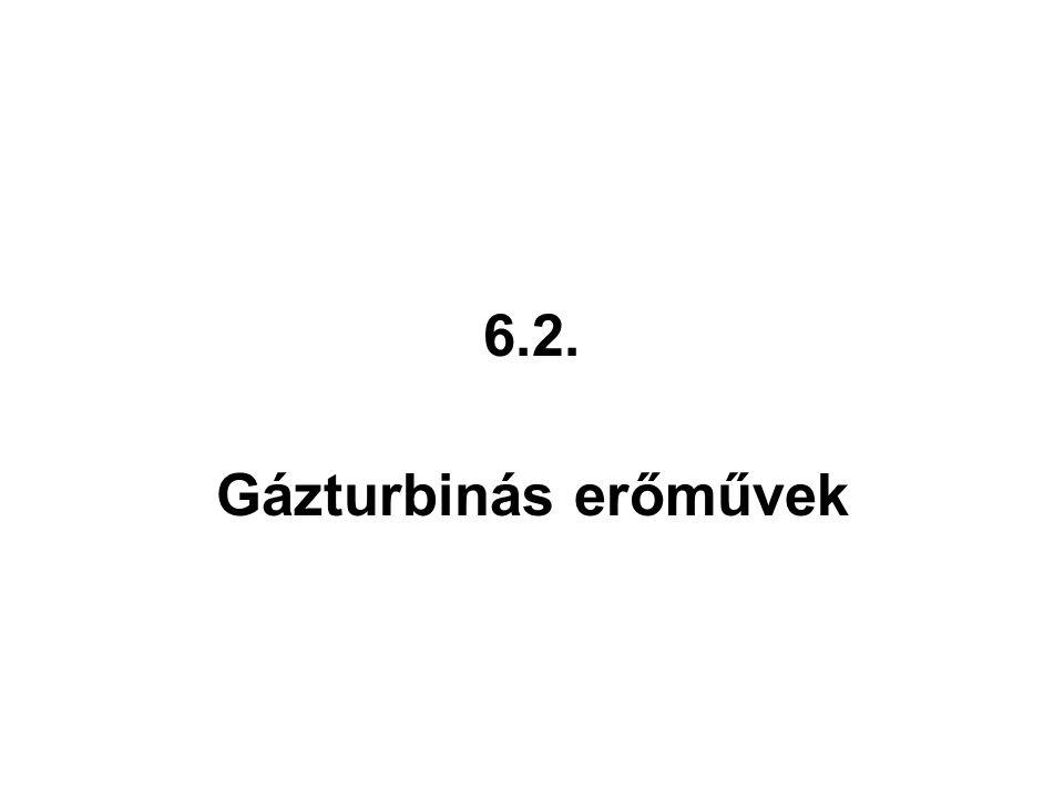 6.2. Gázturbinás erőművek