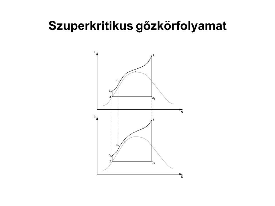 Fokozati és eredő hatásfok 3 4 4 0 T 2 S 1 2 0 T K