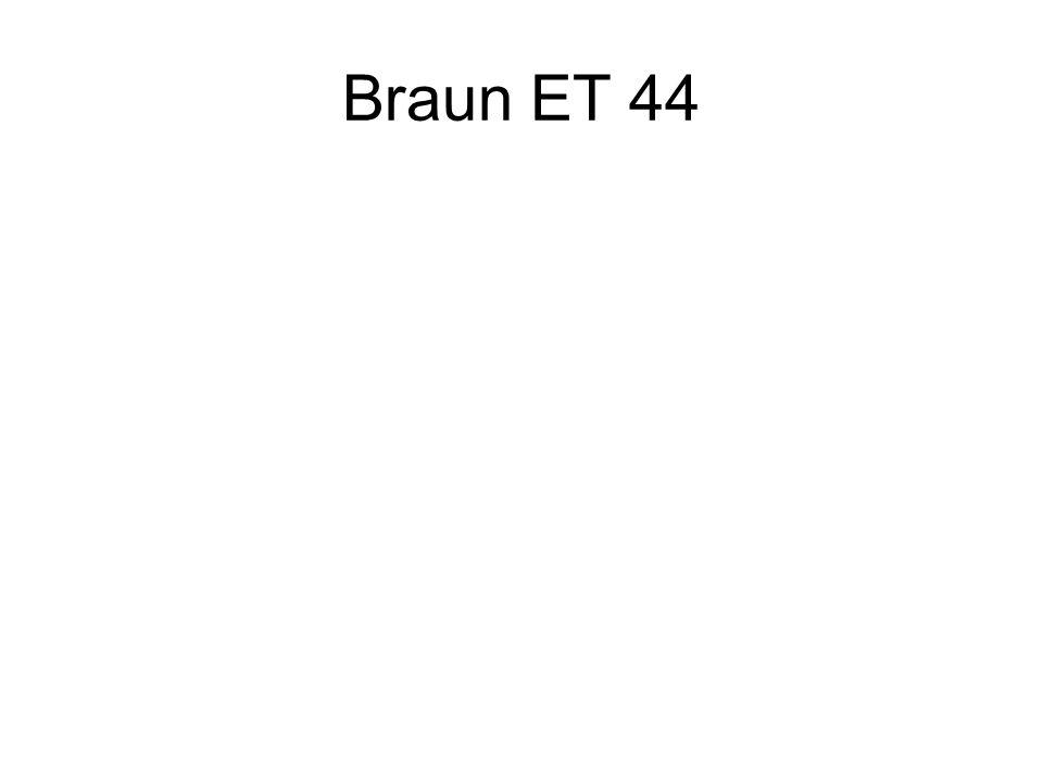 Braun ET 44