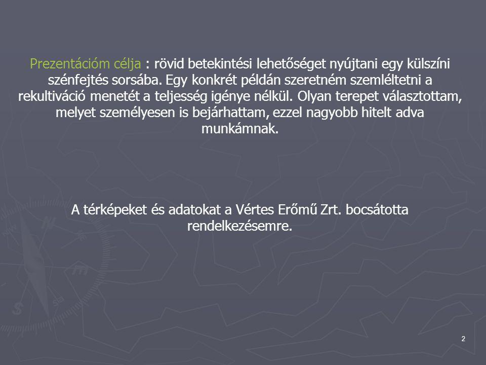 3 A tágabb környezet bemutatása Elhelyezés a térképen ► Vértes a Csákvár- Zámolyi- medencéből aránylag kiemelkedő, majd a Tatabánya- Pusztavámi-medence felé lankákkal eső, haránt-és keresztvölgyekkel szaggatott fennsík.