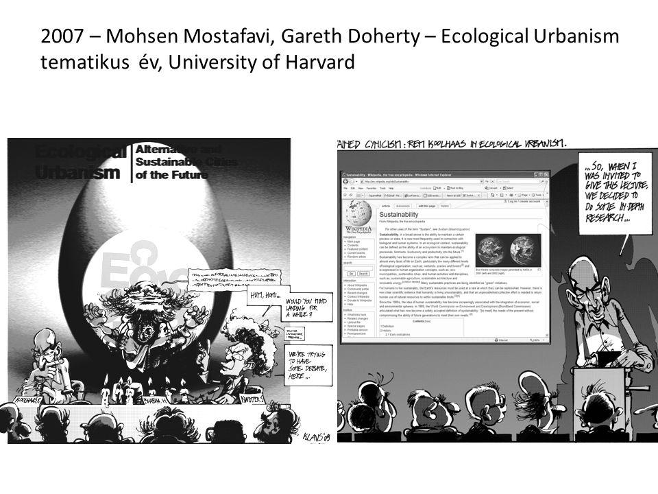 2010 – Mohsen Mostafavi, Gareth Doherty – Ecological Urbanism könyv