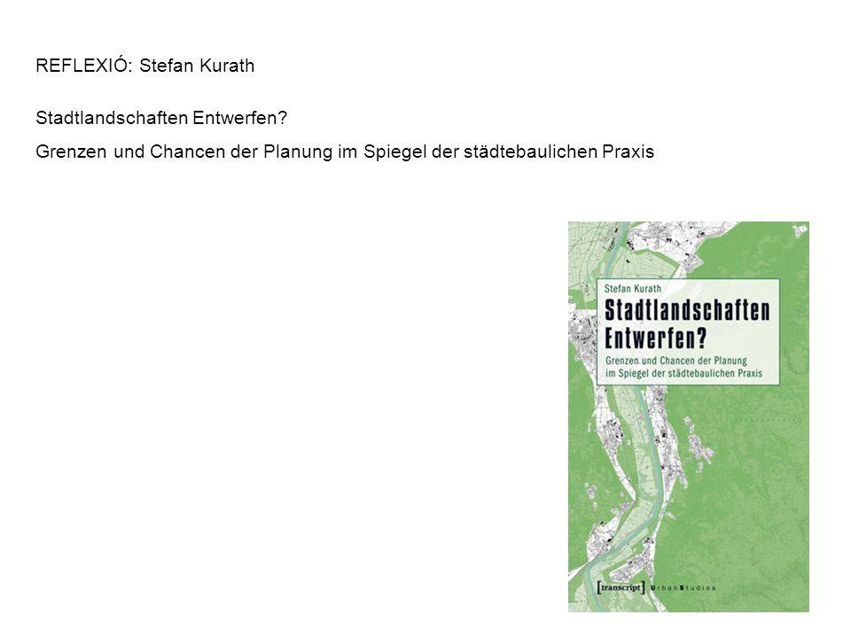 REFLEXIÓ: Stefan Kurath Stadtlandschaften Entwerfen.