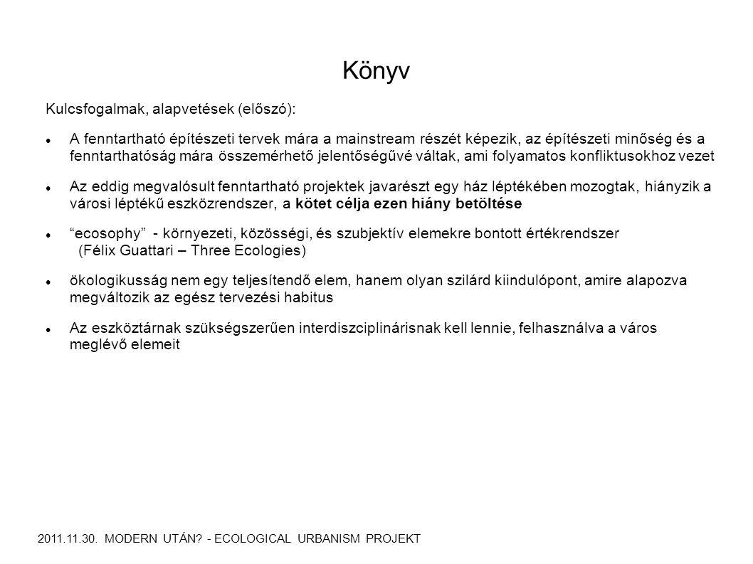Könyv 2011.11.30. MODERN UTÁN.