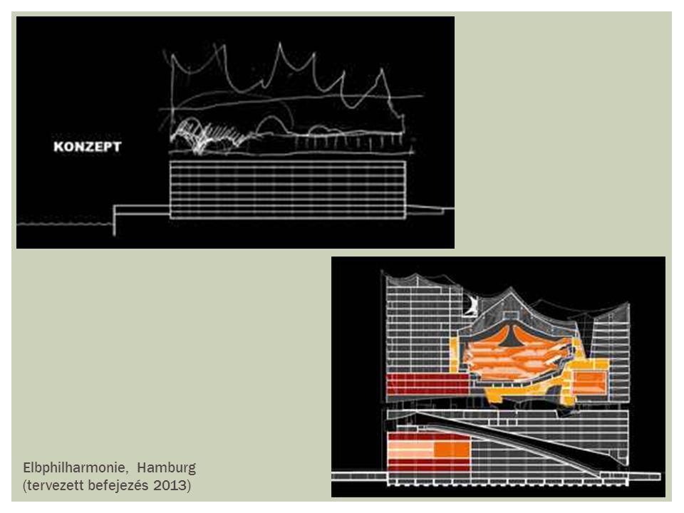 Elbphilharmonie, Hamburg (tervezett befejezés 2013)