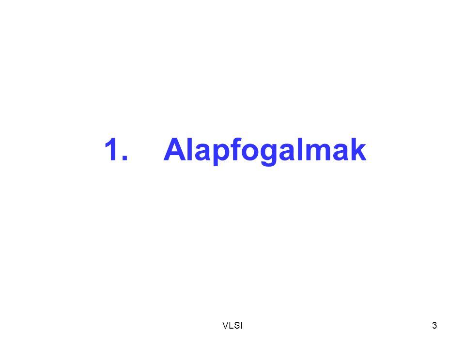 VLSI64 AiAi A i B i BiBi BiBi AiAi CY i B i+1 A i+1 CY i+1 K1K1 K0K0 BiBi AiAi CY i Kétbites aritmetikai egység megvalósítása PLA-val Increment: K0=K1=0K0=K1=0 1