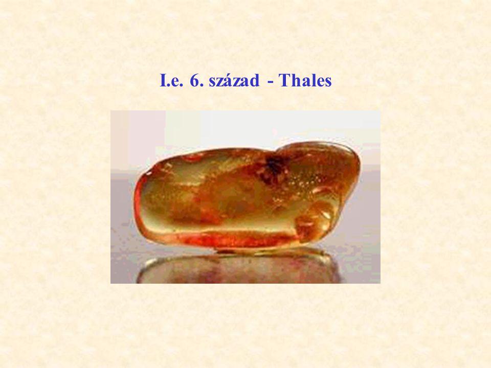 I.e. 6. század - Thales