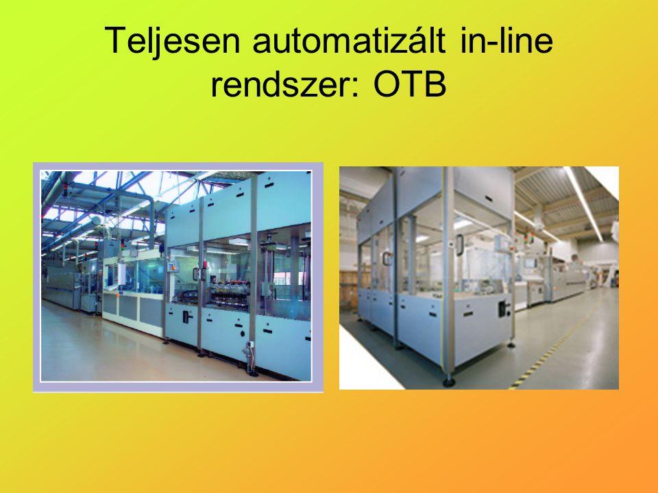 Teljesen automatizált in-line rendszer: OTB