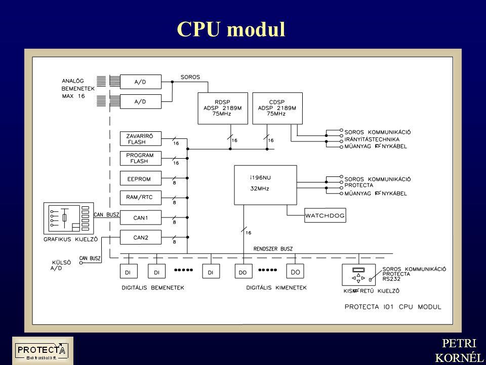 CPU modul PETRI KORNÉL