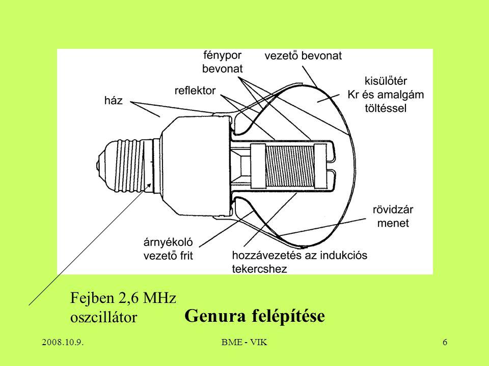 2008.10.9.BME - VIK47 Fémhalogénlámpa 5. Opalizáltbura, esetleg fénypor
