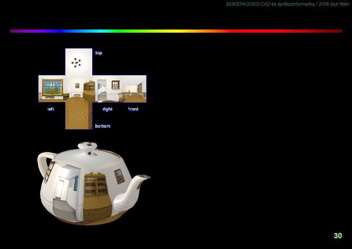 BMEEPAG0202 CAD és építészinformatika / 2006 őszi félév 30
