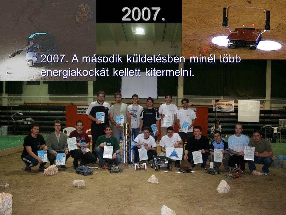 2007.2007. A második küldetésben minél több energiakockát kellett kitermelni.