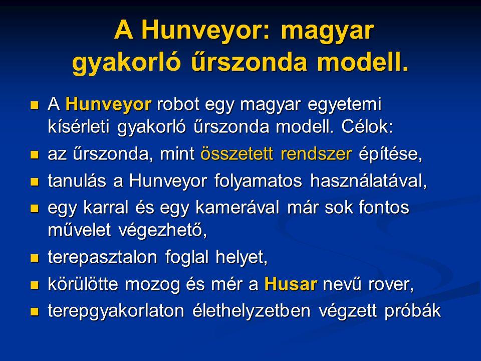 A Hunveyor: magyar űrszonda modell.A Hunveyor: magyar gyakorló űrszonda modell.