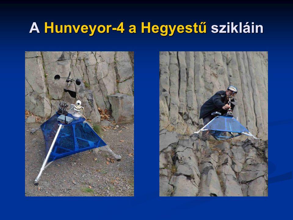 A Hunveyor-4 a Hegyestű szikláin