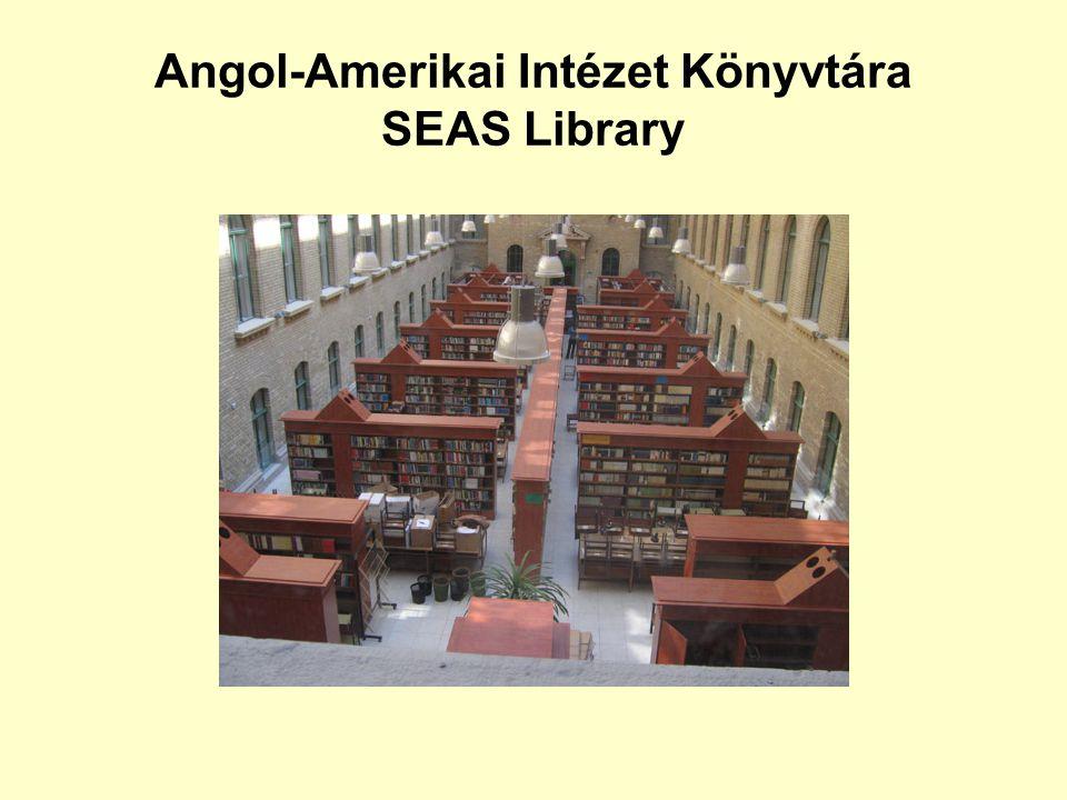 Gyűjtemény (SEAS) Olvasótermi kölcsönözhető példány (SEAS) Olvasótermi példány éjszakára (SEAS) Raktári kölcsönözhető példány (SEAS) Raktári Amerikai Gyűjtemény (SEAS) Raktári szakdolgozat/disszertáció (SEAS) Muzeális raktári példány (SEAS) Raktári audio-vizuális példány (SEAS) Olvasótermi folyóirat (SEAS) Raktári folyóirat (SEAS) Olvasótermi nem kölcsönözhető példány Fontos.