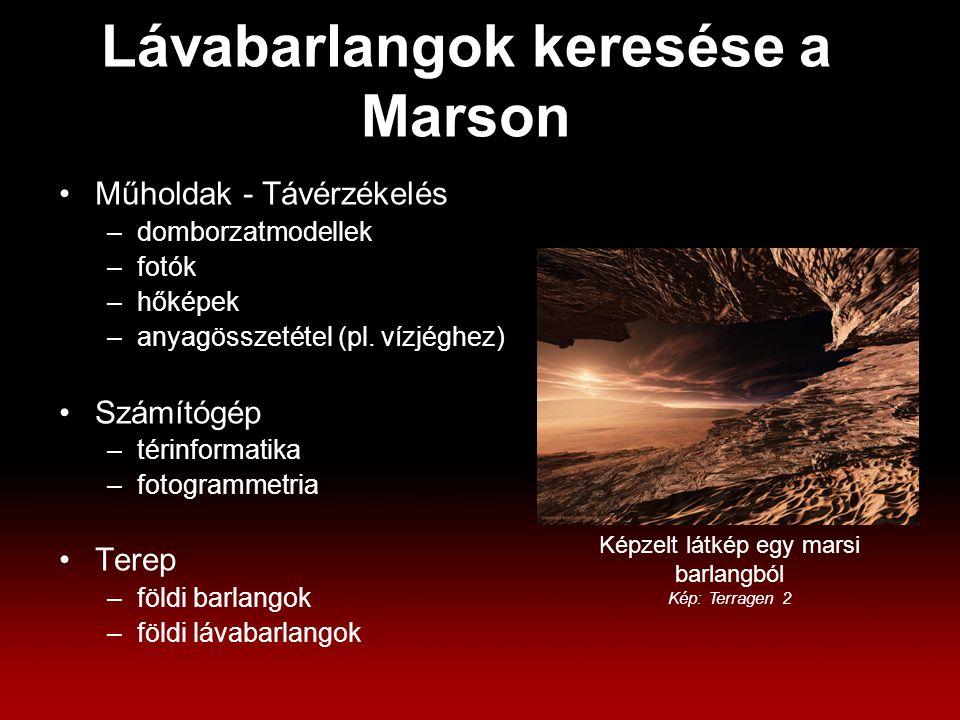 Műholdak - Távérzékelés –domborzatmodellek –fotók –hőképek –anyagösszetétel (pl.